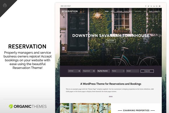 Reservation Theme