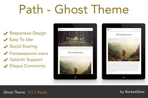 Path - Responsive Ghost Theme