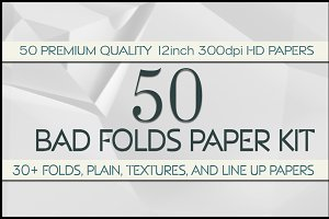 Bad Folds Paper Kit
