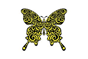 Butterfly Print Vector