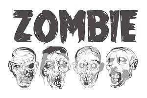ZOMBIE HEAD PACK