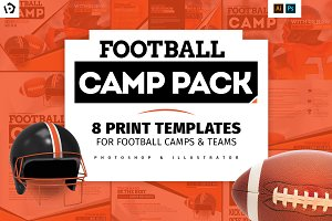 American Football Templates Pack
