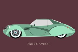 antique classic car