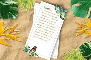 Tropical Wedding direction DiY