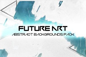 """Future Art"" Abstract BG Pack"
