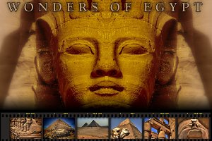 Wonders of Egypt (color version)