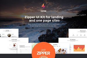 Zipper UI Kit
