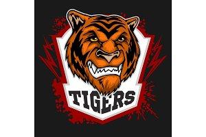 Tigers mascot - sport team