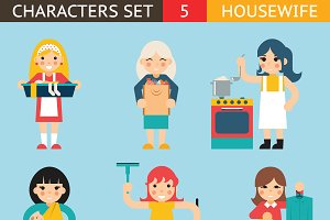 Housewife Characters