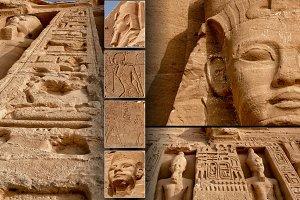 Collage Abu-Simbel