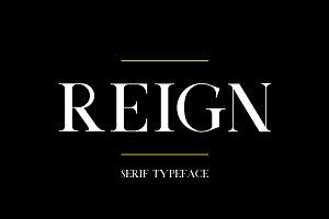 Reign | Serif Typeface