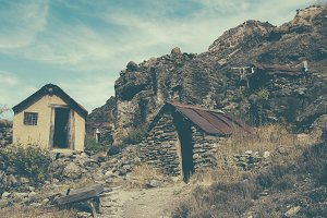Old Gold Mining Town #01