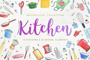 Kitchen patterns & elements