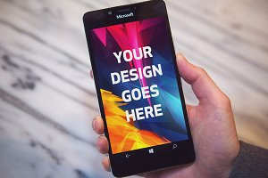 Android Phone Display Mock-up#43