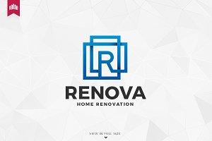 Renova Letter R Logo