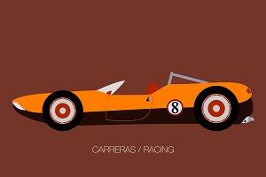 classic sport race car