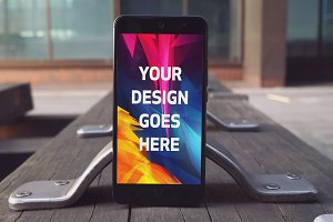 Android Phone Display Mock-up#45