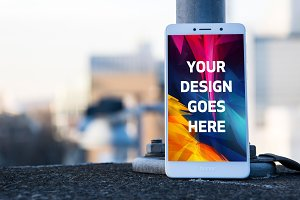 Android Phone Display Mock-up#49