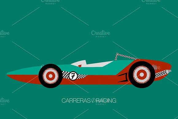 Retro Race Car