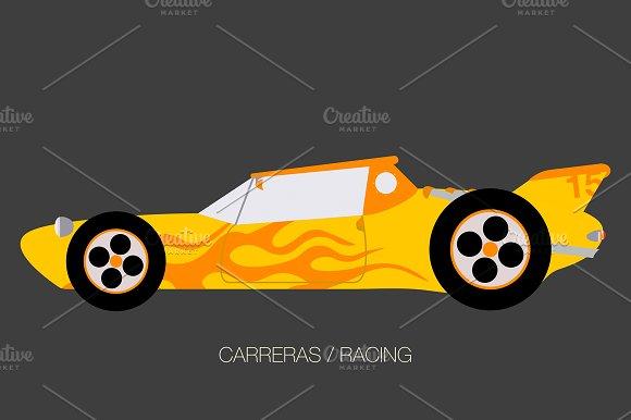 Sport Turbo Race Car