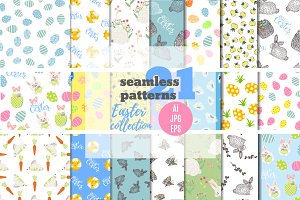 Easter patterns collection