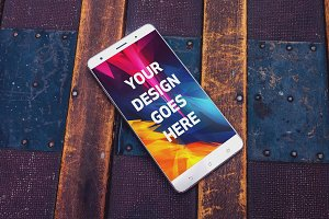 Android Phone Display Mock-up#53