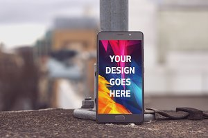Android Phone Display Mock-up#54