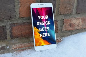 Android Phone Display Mock-up#56