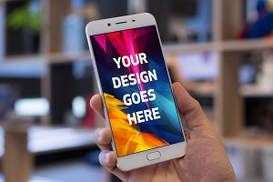 Android Phone Display Mock-up#58