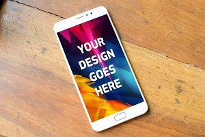 Android Phone Display Mock-up#60