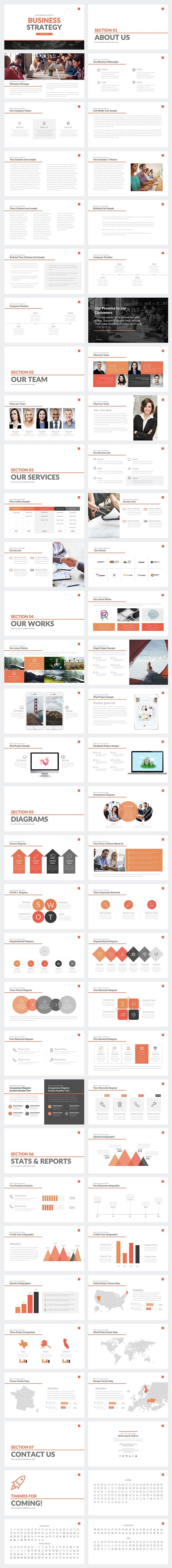 Business strategy deck powerpoint presentation templates business strategy deck powerpoint presentation templates creative market friedricerecipe Images