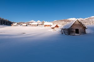 Winter at the village