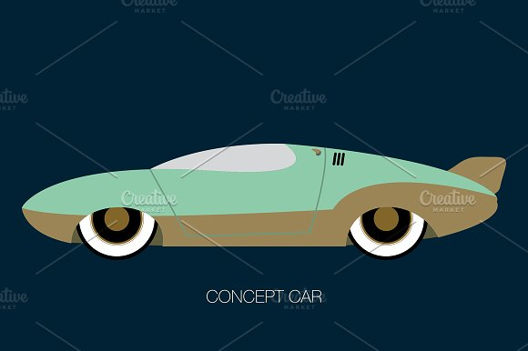 Experimental Speed Car Icon