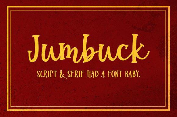 Jumbuck A Serif Script Font