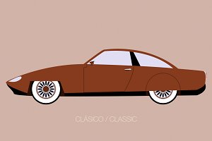 vintage european car