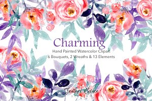 Charming Floral Collection