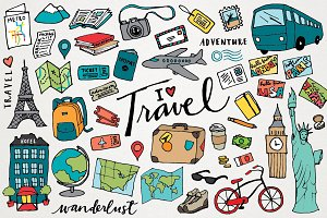 Travel & Wanderlust Illustrations