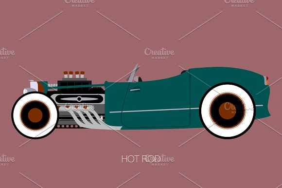 Hot Rod Cabriolet