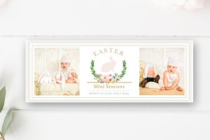 Easter Mini Session Facebook Cover