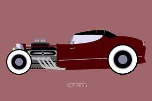 hot rod convertible
