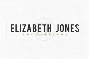 Elizabeth Jones Logo Template