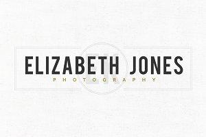 Elizabeth Jones Logo Template