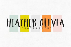 Heather Olivia Premade Logo Template