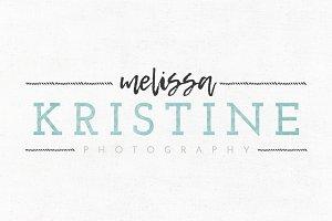 Melissa Kristine Logo Template
