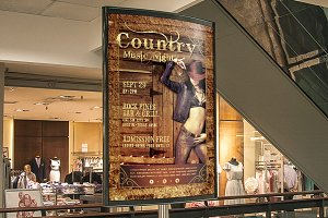 Country Music Night Poster