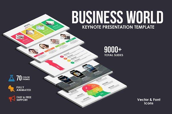Business World Keynote Template