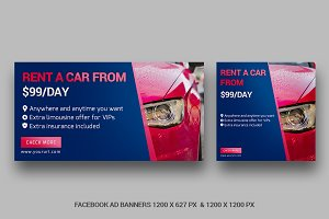Facebook Ad Banners - SB
