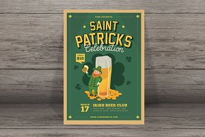 St Patrick's Beer Event Flyer