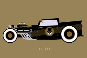 pick up hot rod
