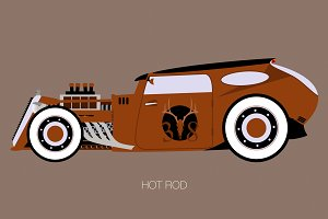 rusty rat rod